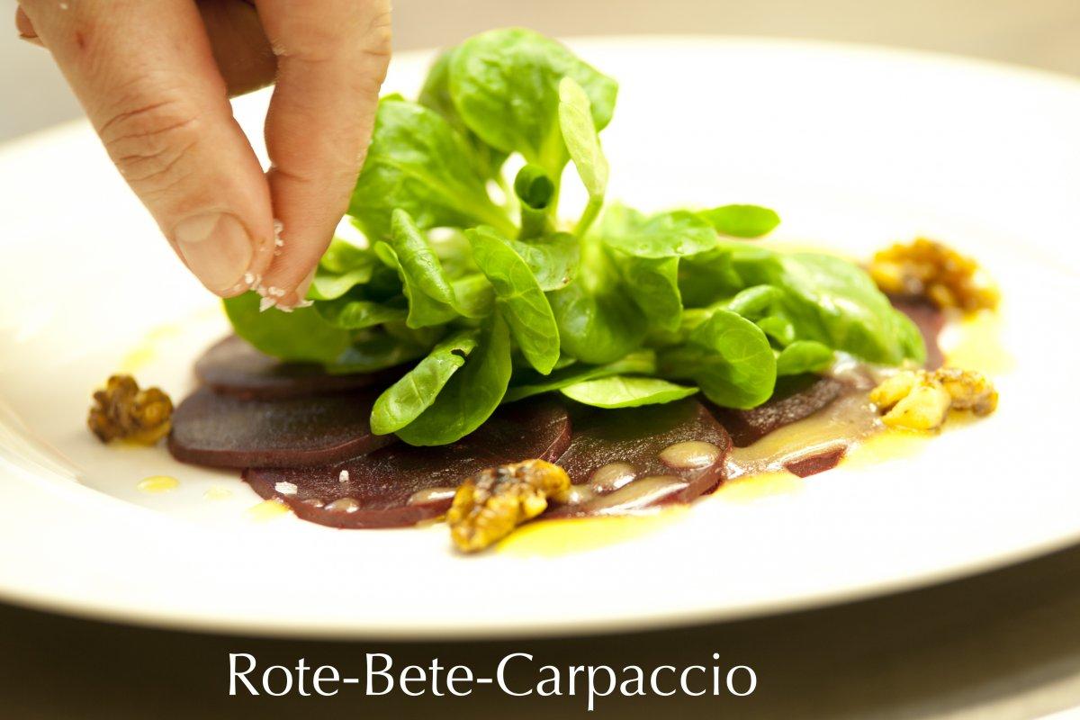 Rote-Bete-Carpaccio